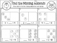 Missing Addends with Animal Dominoes ~ An Easy Prep Math Station