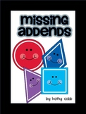 Missing Addends with Shapes