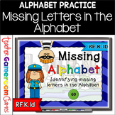Missing Alphabet - Cops vs Robbers Powerpoint Game