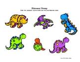 Dinosaur Stomp: Scene with pieces