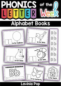 Alphabet cut and paste Booklets