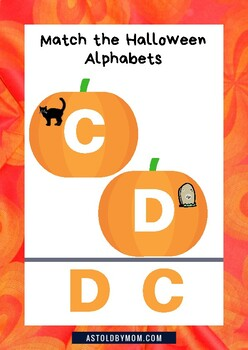 Missing Alphabet Pumpkin Puzzle
