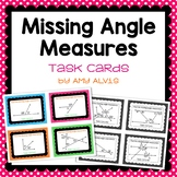 Missing Angle Measures Task Cards