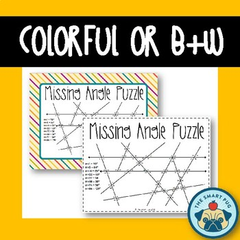 Missing Angles Puzzle