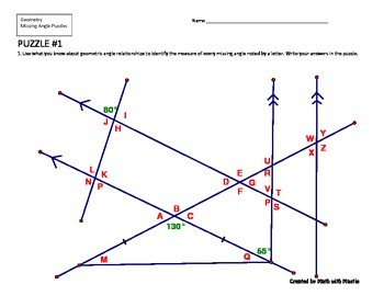 Missing Angle Puzzle #1