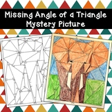 Missing Angle of a Triangle Mystery Picture