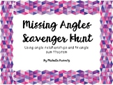Missing Angles Scavenger Hunt