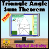 Missing Angles in Triangles Free Digital Activity for Dist