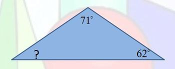 Missing Angles of a Triangle BINGO Common Core Geometry 8.G.A.5