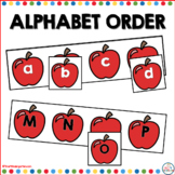 Missing Apples: ABC Order