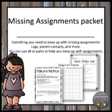 Missing Assignment Forms Packet