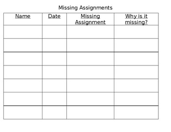 https://ecdn.teacherspayteachers.com/thumbitem/Missing-Assignments-Log-3233280-1499006541/original-3233280-1.jpg