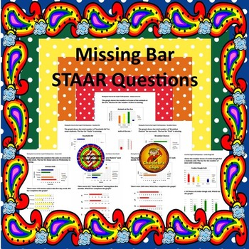 Missing Bar from Bar Graph STAAR Questions