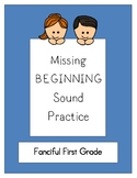 Missing Beginning Sounds - Set 1