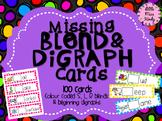 Missing Blend & Digraph literacy centre cards - Beginning sounds