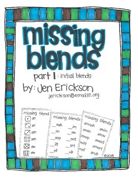 Missing Blends (part 1)