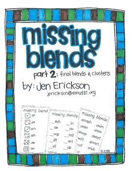 Missing Blends (part 2)