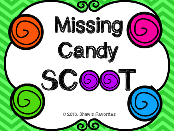 Missing Addend SCOOT {1.OA.4/1.OA.8}