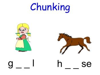 Phonics - Missing Chunks (digraphs)