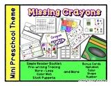Missing Crayons - Mini Preschool Theme - Colors