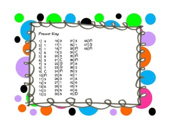 Missing Digit Multiplication Task Cards