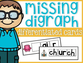 Missing Digraph Differentiated Cards