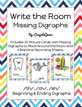 Missing Digraph Write the Room
