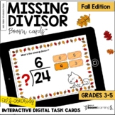 Missing Divisor: Fall Edition BOOM Cards™