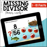 Missing Divisor: Fishing Edition BOOM Cards™