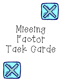 Missing Factor Cards
