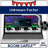Missing Factor Drive-In Boom Cards (3.OA.4)