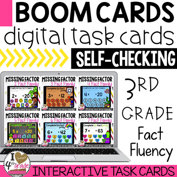 Missing Factor Multiplication Boom Cards