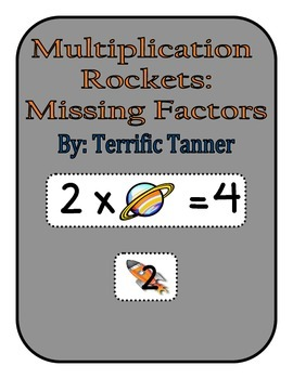 Missing Factor Multiplication Game