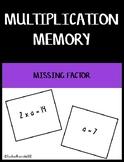 Missing Factor Multiplication Memory