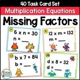 Multiplication Missing Factors