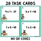 Missing Factors Task Cards with Optional QR Codes