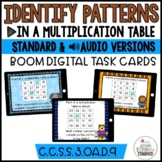 Missing Factors in a Multiplication Chart Digital Boom Cards
