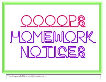 Missing Homework