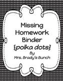 Missing Homework Accountability System