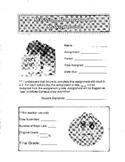 Missing Homework Assignment Sheet