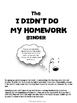 Missing Homework Binder