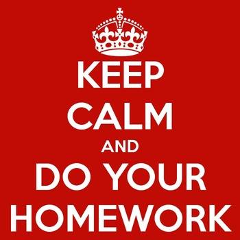 Missing Homework Notice