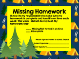 Missing Homework Slip