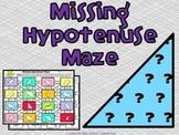Missing Hypotenuse: Pythagorean Maze Activity