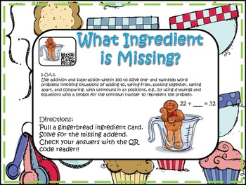 Missing Ingredient! (QR Code Fun)