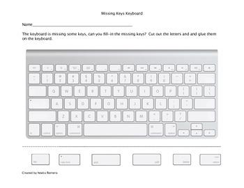 Missing Keys Keyboard