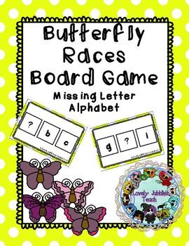 Missing Letter Alphabet Board Game
