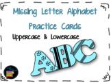 Missing Letter Alphabet Cards