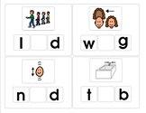 Missing Letter CVC words Sets 1 and 2
