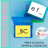 Missing Letter Deck Alphabet Sequencing Activity